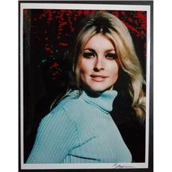 Shahrokh Hatami signed photo of Sharon Tate.