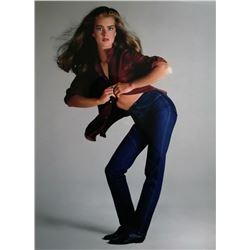 RICHARD AVEDON: Brooke Shields 1980 for Calvin Klien.