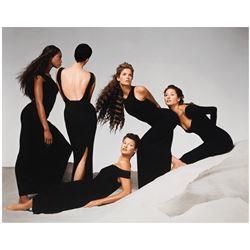 RICHARD AVEDON: Naomi Campbell, Kristen McMenamy, Linda Evangelista, Stephanie Seymour....