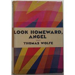 LOOK HOMEWARD, ANGEL BY WOLFE THOMAS (1929).