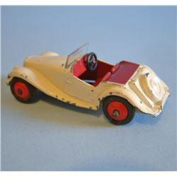 DINKY Meccano 1954 MG MIDGET#129 US import.