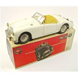 1960's MGA 1600 ROADSTER JAPANESE TIN CAR
