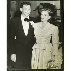 FRANK SINATRA AND JUDY GARLAND VINTAGE PHOTO.