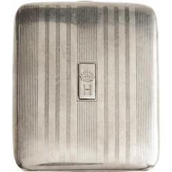 Humphrey Bogart's Silver Cigarette Case. This h Humphrey Bogart's Silver Cigarette Case.