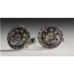 Stan Laurel Cuff Links. This pair of ornate cuff Stan Laurel Cuff Links.
