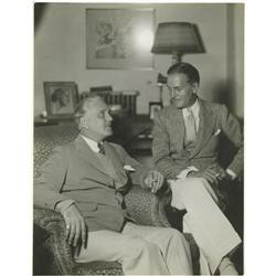 Frank and Ralph Morgan Photo. An 11x14 1932 publ Frank and Ralph Morgan Photo.