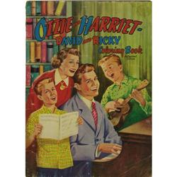 """Ozzy and Harriet Coloring Book. A copy of the """" Ozzy and Harriet Coloring Book."""