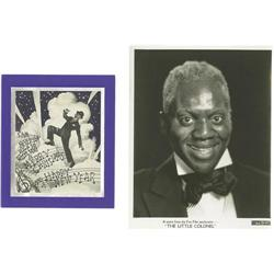 Bill Robinson Photo and Christmas Cards. A colle Bill Robinson Photo and Christmas Cards.