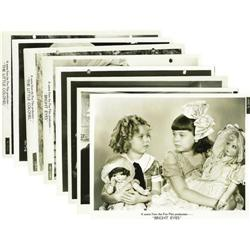 Shirley Temple Photo Group. Eight vintage black- Shirley Temple Photo Group.