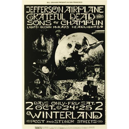 Jefferson Airplane - (Bill Graham Presents, 1969 Jefferson