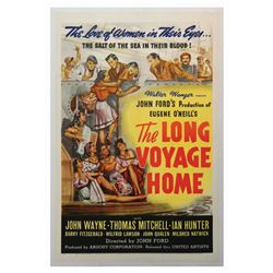 The Long Voyage Home One Sheet Poster.