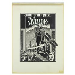 Original Larry Noble Drawing for The Aviator.