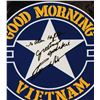 Image 2 : Signed Robin Williams Good Morning Vietnam Poster.