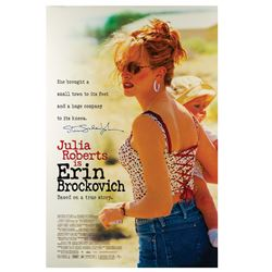 Signed Erin Brockovich Event Poster.