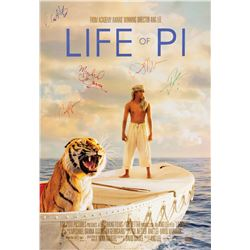 Signed Life of Pi Event Poster.