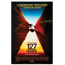 Signed 127 Hours Event Poster.