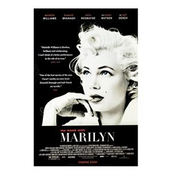 Signed My Week with Marilyn Event Poster.