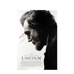 Signed Lincoln Event Poster.