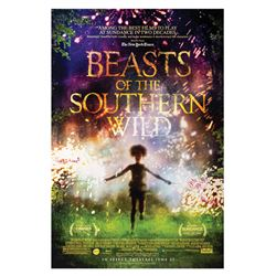 Signed Beasts of the Southern Wilds Event Poster.