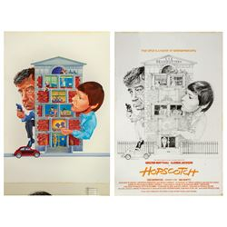 Hopscotch Original Poster Artwork.