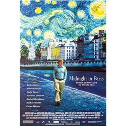 Signed Midnight in Paris Event Poster.
