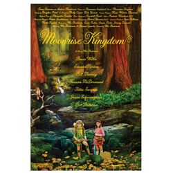 Signed Moonrise Kingdom Event Poster.