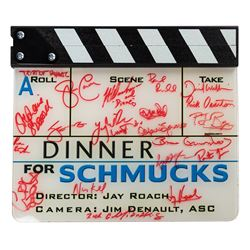 Multi-Signed Dinner for Schmucks Clapboard.