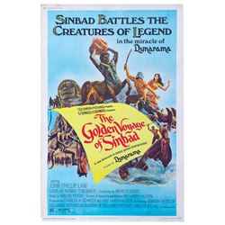 The Golden Voyage of Sinbad Poster.