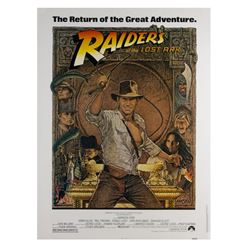 Raiders of the Lost Ark 40x30 Re-Release Poster.