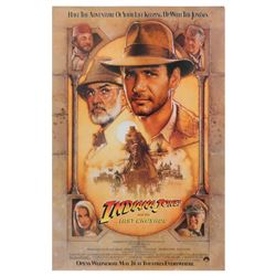 Indiana Jones and the Last Crusade Advance Poster.
