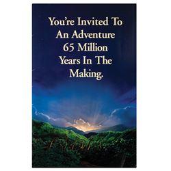 Jurassic Park Premiere Invitation.