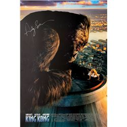 Signed King Kong Event Poster.