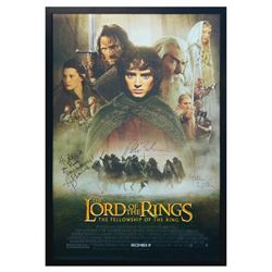 Signed The Lord of the Rings Event Poster.