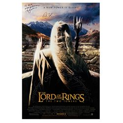 Signed Lord of the Rings: The Two Towers Event Poster.