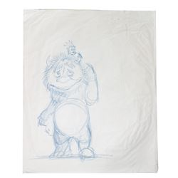 Where the Wild Things Are Concept Drawing.