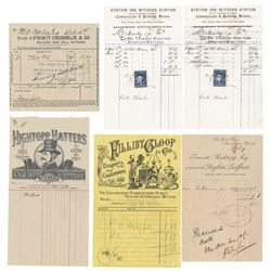 Alice Through the Looking Glass Prop Receipts.