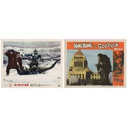 Pair of King Kong Lobby Cards.