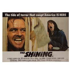 The Shining British Quad Poster.