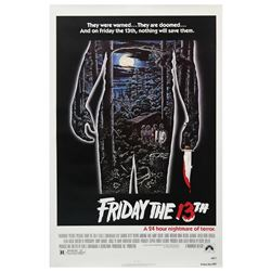 Friday the 13th One Sheet Poster.