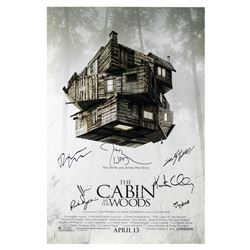 Signed The Cabin in the Woods Event Poster.