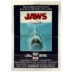 Jaws One Sheet Poster.