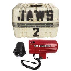 Jaws 2 Camera Case & Equipment.
