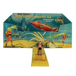 20,000 Leagues Under the Sea Tin Shooting Game.
