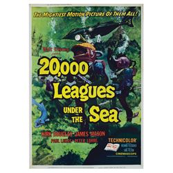 20,000 Leagues Under the Sea 40x60 Poster.
