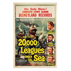 20,000 Leagues Under the Sea Story Album Poster.