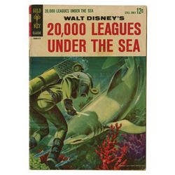 20,000 Leagues Under the Sea Comic Book.