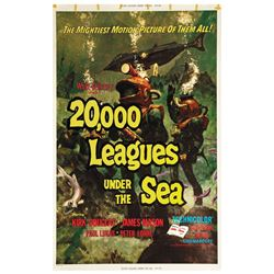 20,000 Leagues Under the Sea Two Sheet Poster.