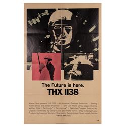 THX 1138 One Sheet Poster.