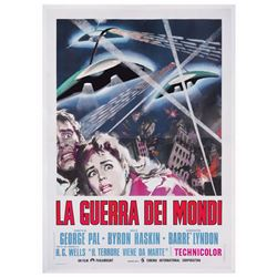 War of the Worlds Italian Four Sheet Poster.