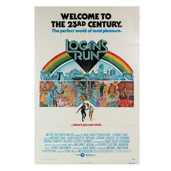 Logan's Run One Sheet Poster.